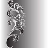 Abstract ornament van bladeren en takken. Royalty-vrije Stock Afbeeldingen