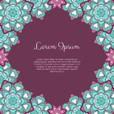 Abstract ornamental background Stock Image