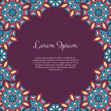 Abstract ornamental background Stock Photography