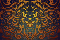 Abstract ornamental background Royalty Free Stock Photography