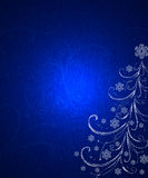 Abstract Ornamental Christmas Tree Royalty Free Stock Images