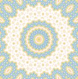Abstract ornamental background. Abstract ornamental color pattern on white background Stock Image