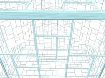 Abstract Ornamental Constructions Vector Stock Photos