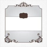 Abstract ornamental frame Royalty Free Stock Photography