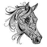 Abstract Ornamental Horse Royalty Free Stock Photos