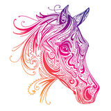 Abstract Ornamental Horse Royalty Free Stock Photography