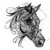 Abstract Ornamental Horse Stock Photos
