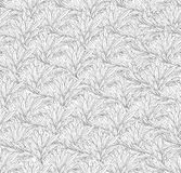 Abstract ornamental leaf texture. Floral seamless background. De Royalty Free Stock Photography