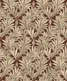 Abstract ornamental leaf texture. Floral seamless background. De Stock Photo
