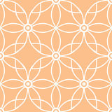 Abstract ornamental seamless pattern background Royalty Free Stock Photos