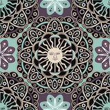 Abstract ornamental seamless pattern Royalty Free Stock Image