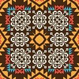 Abstract ornamental pattern stock illustration