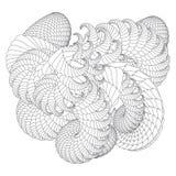Abstract ornamental swirls Stock Photos