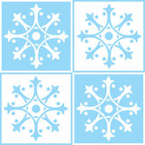 Abstract ornamental tiles Royalty Free Stock Photography