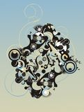 Abstract ornamental vector Stock Photography