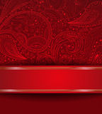 Abstract ornate card Royalty Free Stock Photo