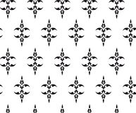 Abstract ornate design repeat pattern. Abstract ornate design repeat seamless pattern Royalty Free Stock Image