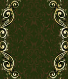 Abstract ornate frame Stock Image