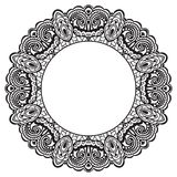 Abstract ornate frame. Element for design Stock Photography