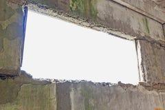 Abstract oud grijs binnenland Royalty-vrije Stock Foto's
