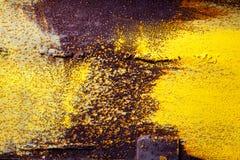 Abstract oud roestig metaal Stock Afbeelding