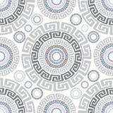 Abstract oud vector naadloos patroon royalty-vrije illustratie