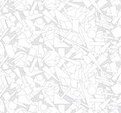 Abstract outlined geometric Seamless Texture Royalty Free Stock Images