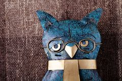 Abstract owl Stock Image