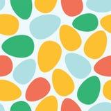 Abstract paaseieren naadloos patroon royalty-vrije illustratie