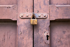Abstract  padlock rusty  crenna gallarate varese italy Royalty Free Stock Image
