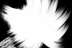 Abstract paint brush stroke black and white transition background, paint illustration Royalty Free Stock Photos