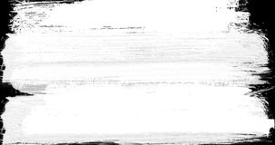 Abstract  paint brush stroke black and white transition background Royalty Free Stock Photos