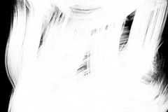 Abstract paint brush stroke black and white transition background, paint illustration Stock Photo