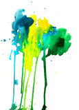 Abstract paint composition Royalty Free Stock Image