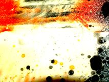 Abstract Paint Effect Stock Photo