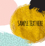 Abstract Paint Glittering Textured Art Pattern Background.  Royalty Free Stock Photography