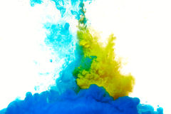 Abstract paint splash Royalty Free Stock Photography