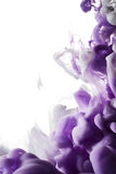 Abstract paint splash. Isolated on white background royalty free stock image