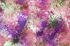 Abstract paint splash. Splash of pink and green paint as a background royalty free stock images