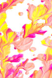 Abstract Paint Splatters Royalty Free Stock Photography