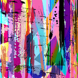 Abstract paint strokes background Royalty Free Stock Photo