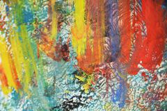 Abstract paint watercolor colorful structure, abstract vivid background Stock Photography