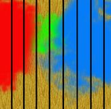Abstract painted background. Abstractly painted wooden wall or fence Stock Image