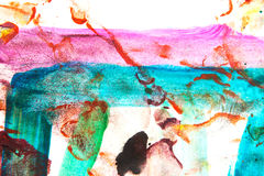 Abstract painted background Royalty Free Stock Images