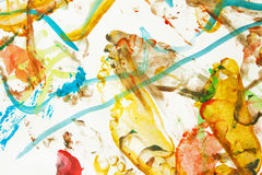 Abstract painted background Royalty Free Stock Image