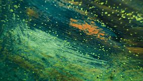 Abstract Painted background. Colorful Fluid effects. Grunge patches scattered on background. Good for :Wall Art, Cards, decor. stock images