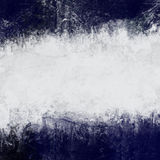 Abstract painted background in dark blue and white Royalty Free Stock Image