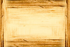 Abstract painted background in golden brown Royalty Free Stock Photo
