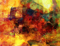 Abstract painted background grunge Royalty Free Stock Image