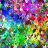 Abstract painted background. Stock Image